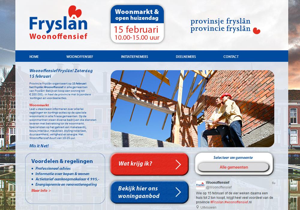 Friesland Woonoffensief
